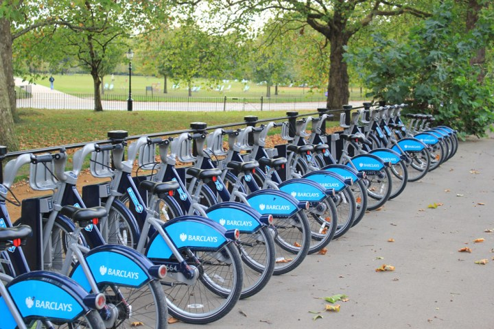 cycle hire in hyde park
