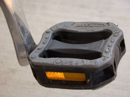 Do your pedals have reflectors?