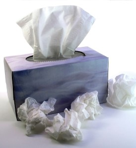 Tissues  - cycling with a cold