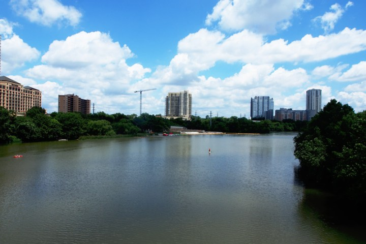 River view in Austin