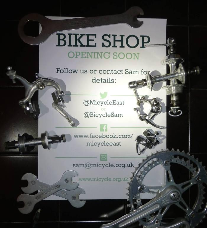 Micycle East bike shop
