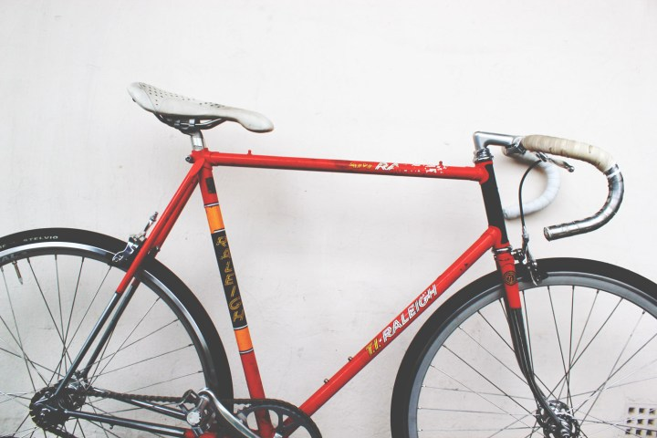 Raleigh Team Ti bike