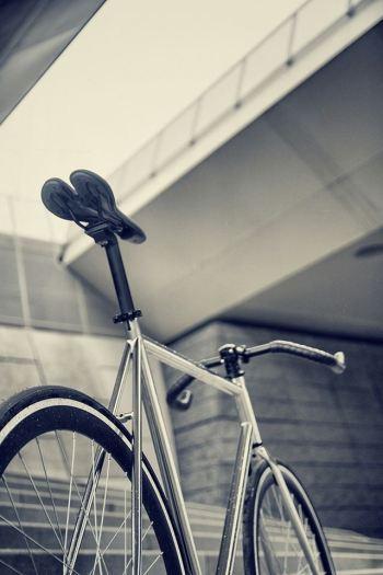Chrome bike by Fixation London