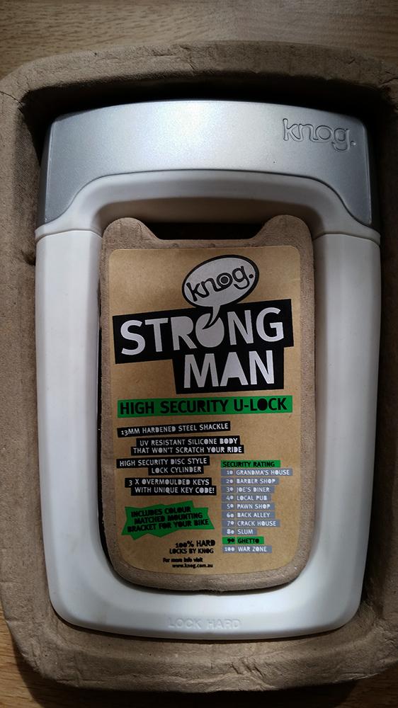 Knog Strongman packaging