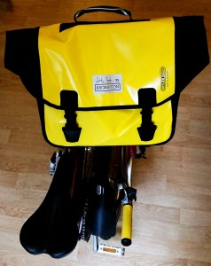 Yellow Brompton O-Bag