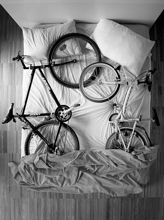 No room for anything other than bikes