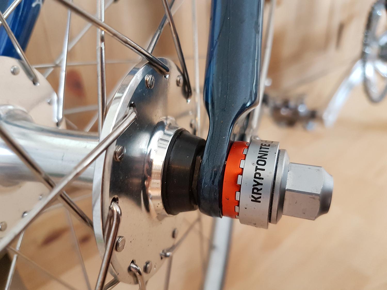 Radsport Schlösser & Sicherheit Front And Rear Skewer Kryptonite Bike Lock Security Wheelboltz