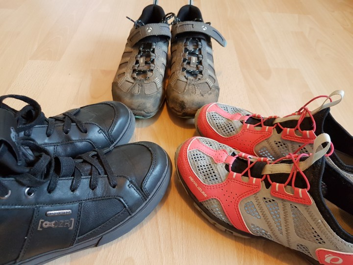 A selection on urban cycling shoes