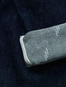 jeans reflective cuff