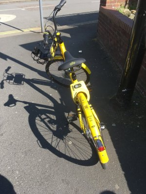 ofo bike parking