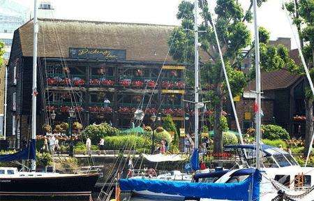 The Dickens Inn at St Katherine's Docks