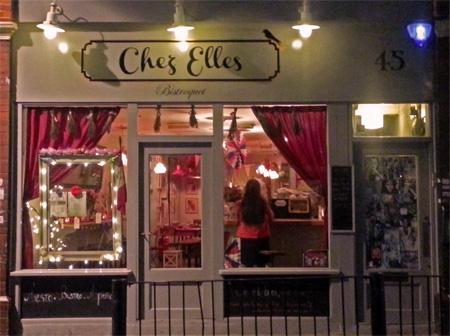 Chez Elles Restaurant Brick Lane