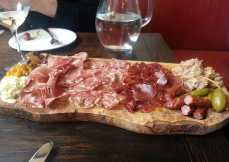 Drakes Tabanco Meat Board
