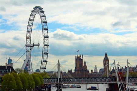 Southbank Date - London Eye