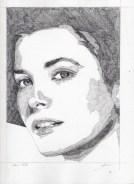 Grace Kelley Pencil Sketch 2