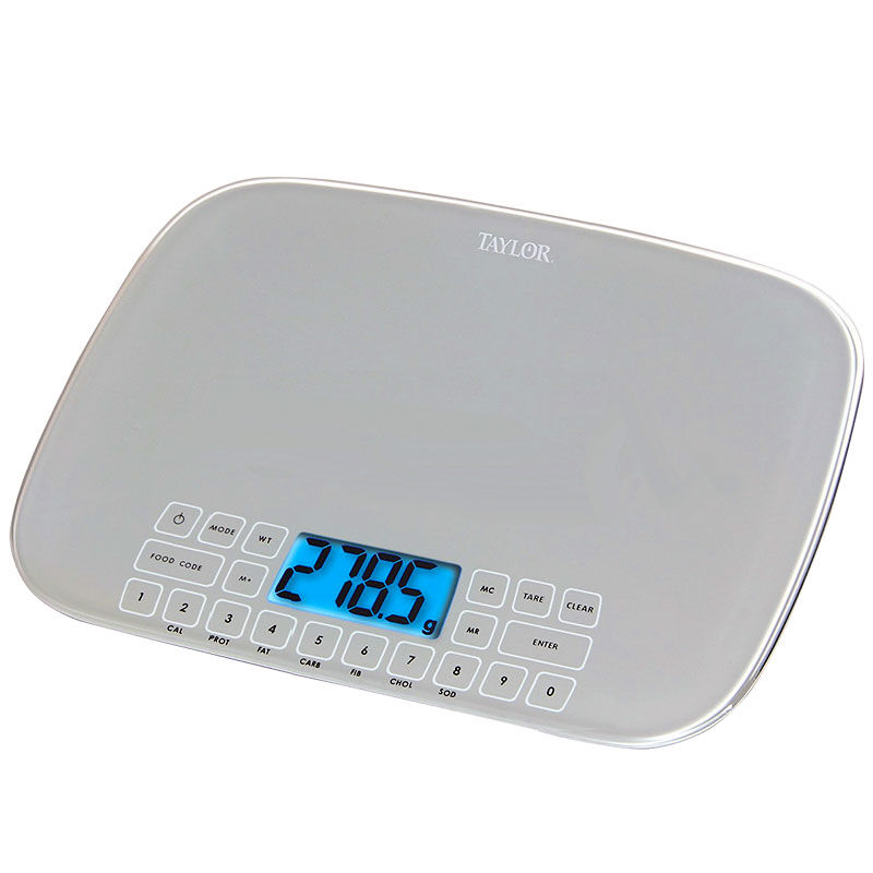 kitchen scales 32 inch undermount sink london drugs taylor nutrition food scale up to 5kg 3848 48