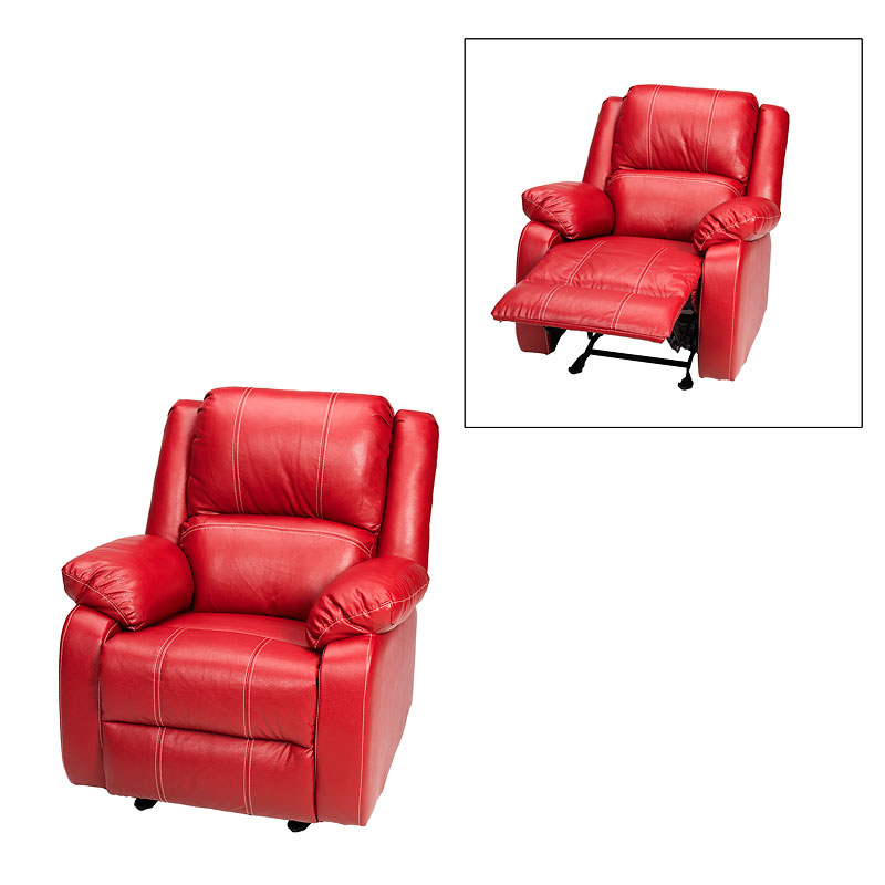 red recliner chairs herman miller celle chair london drugs rocker