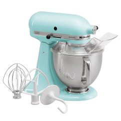 Kitchen Aid 5 Qt Mixer Equipment Repair Kitchenaid Artisan Series Quart Stand Ice Blue Ksm150psic London Drugs