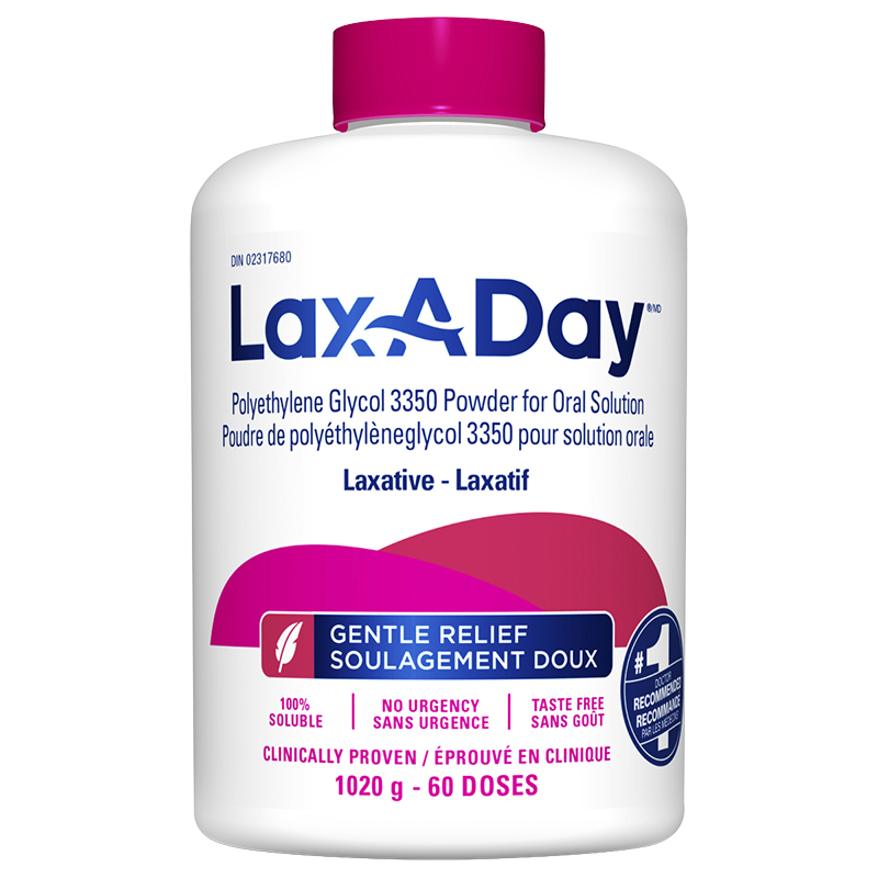 Lax A Day Laxative - 1020g   London Drugs
