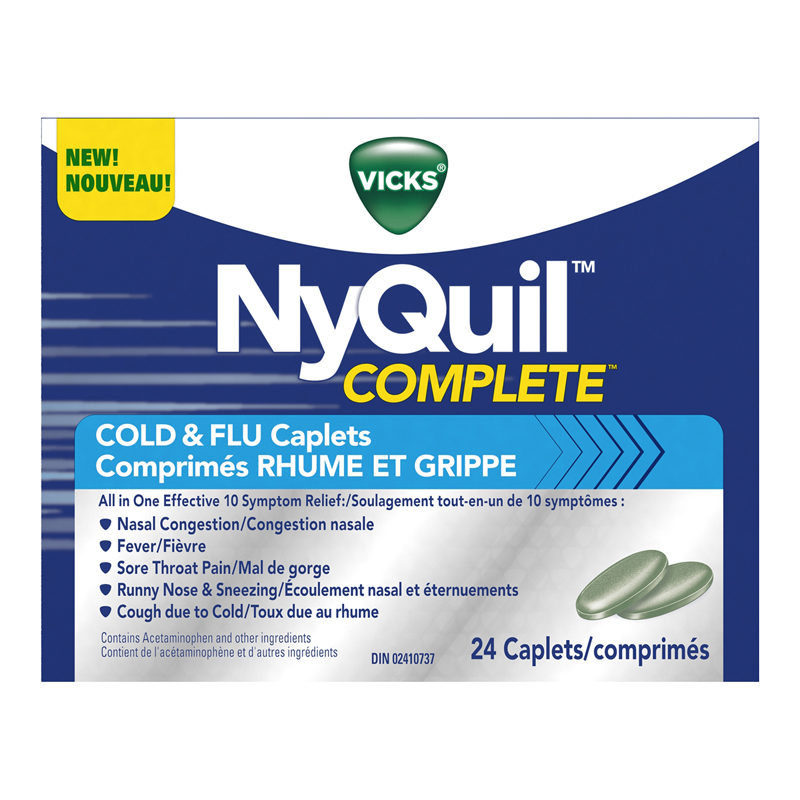 vicks nyquil complete cold
