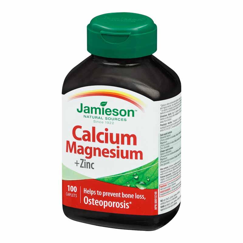 Jamieson Calcium Magnesium + Zinc - 100's   London Drugs