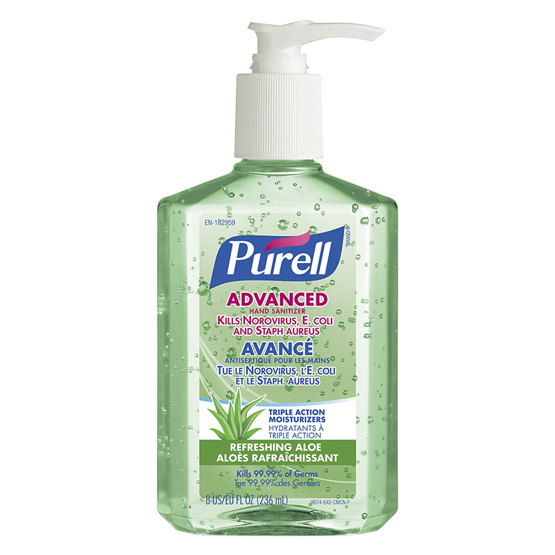 Purell Hand Sanitizer with Aloe - Pump - 236ml | London Drugs