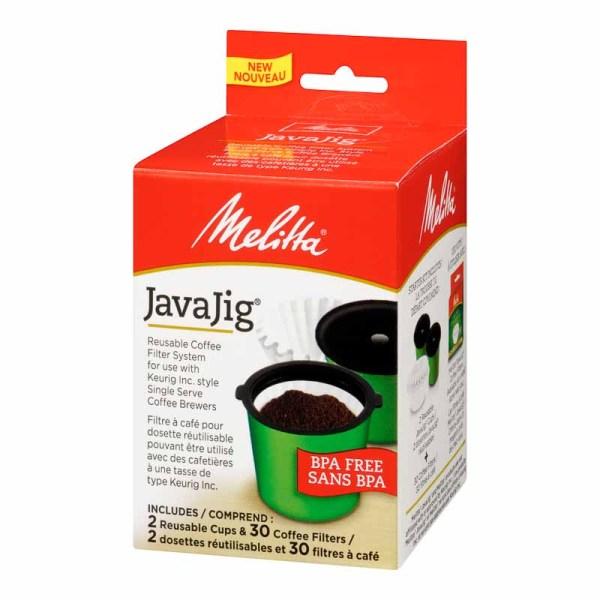 Melitta Java Jig Starter Kit - 2 Cups 30 Filters London Drugs