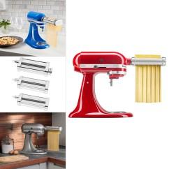 Kitchen Aid Pasta Fridge Kitchenaid Roller Attachment Set 3 Piece Ksmpra London Drugs