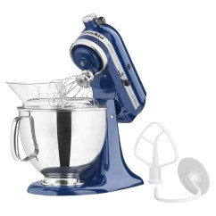 Kitchen Aid 5 Qt Mixer Cheap Remodel Kitchenaid Artisan Series Quart Stand Blue Willow Ksm150psbw