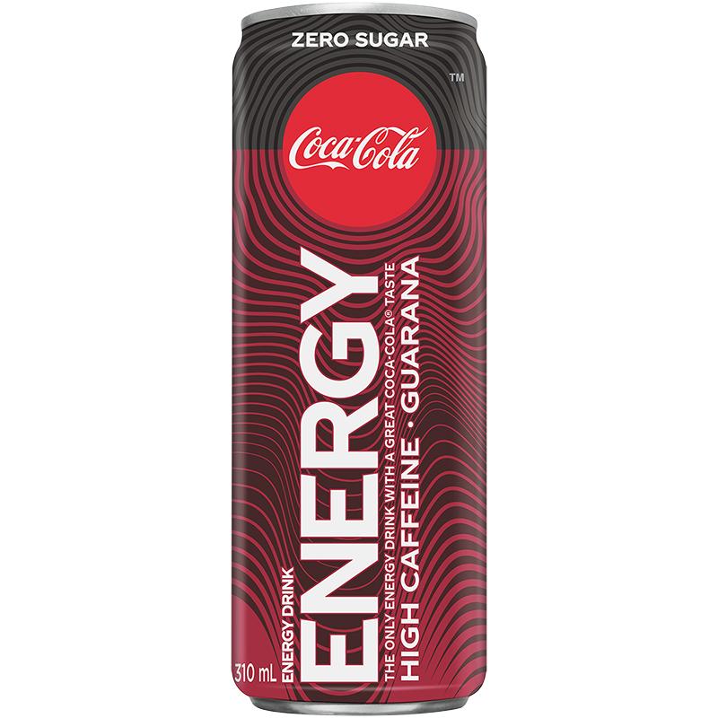 Coca-Cola Zero Energy Drink - 310ml | London Drugs