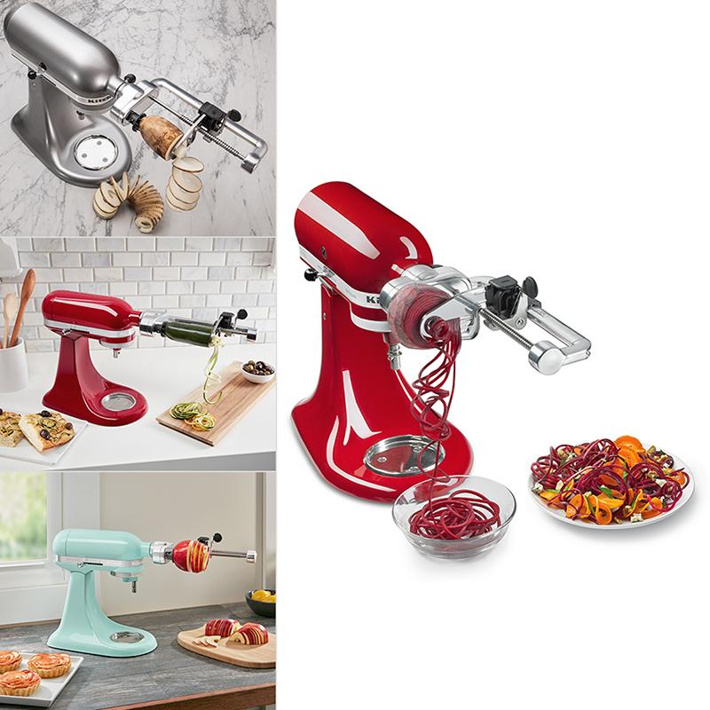 kitchen aid products window treatments ideas kitchenaid spiralizer plus attachment ksm2apc london drugs