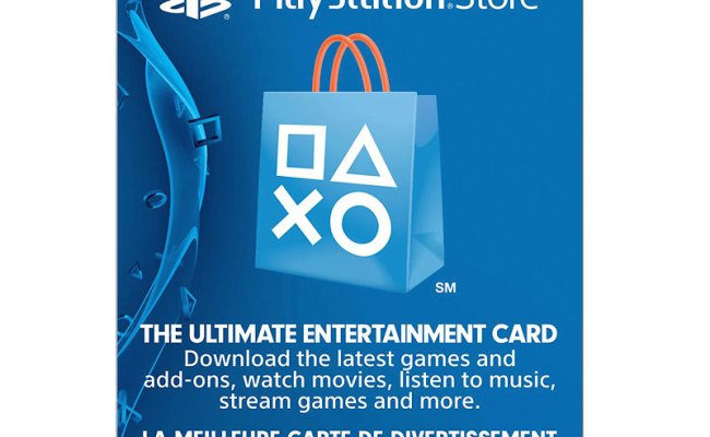 Playstation Network Gift Card 20 London Drugs