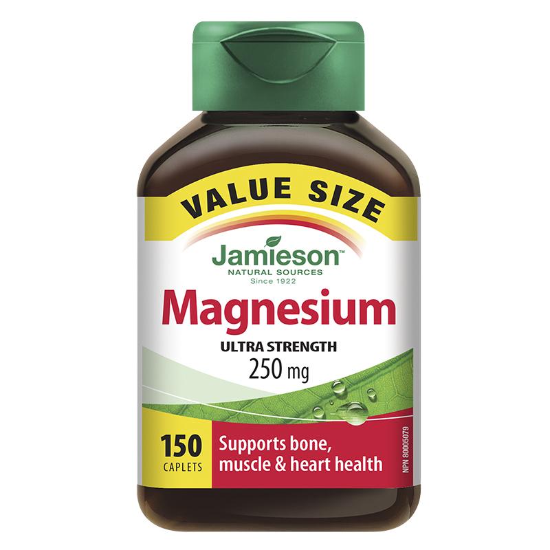 Jamieson Magnesium Ultra Strength 250 mg - 150's   London ...