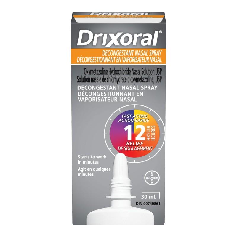 Drixoral Decongestant Nasal Spray - 30ml   London Drugs