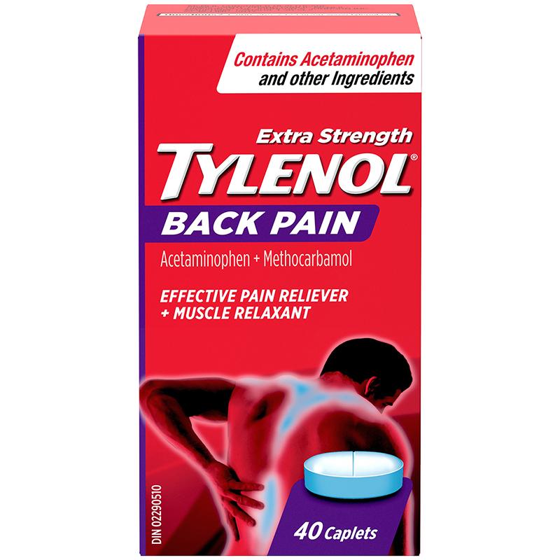 Tylenol* Extra Strength Back Pain - 40's | London Drugs