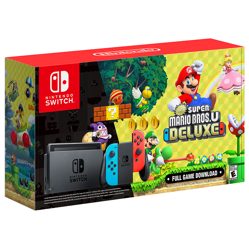 Nintendo Switch Super Mario Bros. U Deluxe Bundle   London Drugs