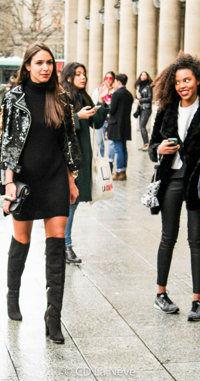 Camila Neves @ Paris Fashion Week 2016