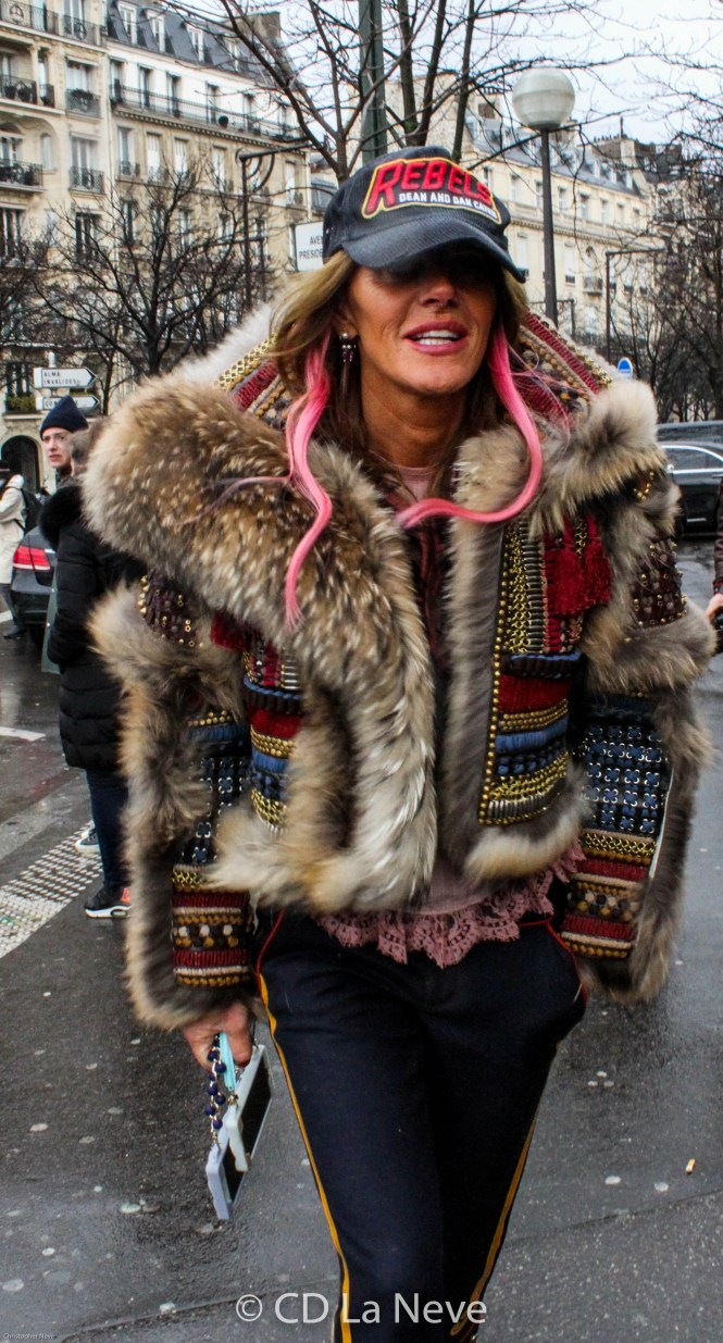 Anna Dello Russo Paris Fashion Week 2016