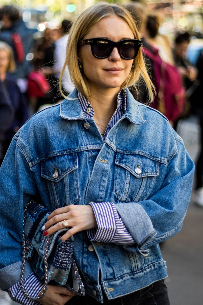 Pernille Teisbaek At Paris Fashion Week