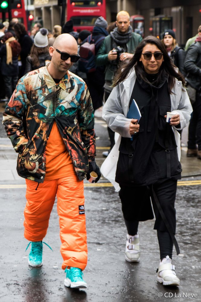 London Fashion Week Men's AW 17 Street Style