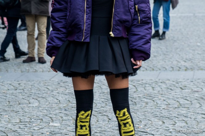 Vetements Street Style Paris Haute Couture SS17