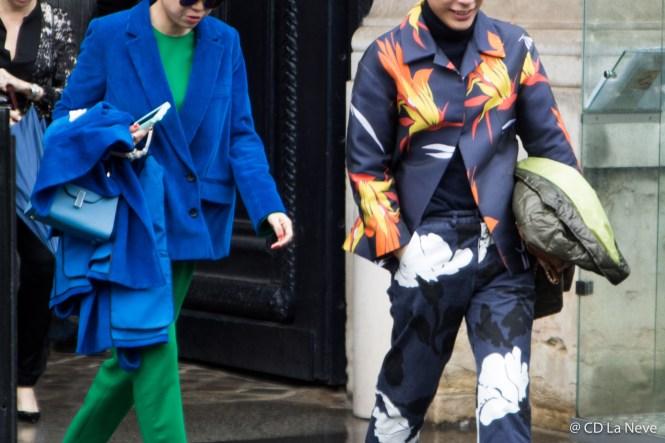 Lanvin Street Style Paris Fashion Week Fall Winter 17