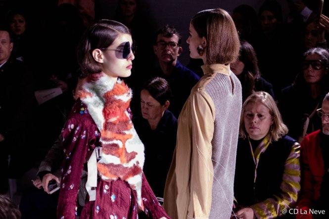 Fall Winter 17/18 Style Acne Catwalk Show Paris Fashion Week