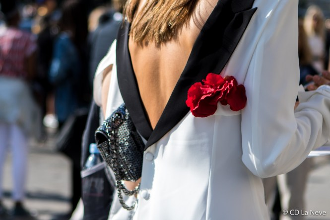 Chanel Haute Couture Street Style Paris Fashion Week AW17