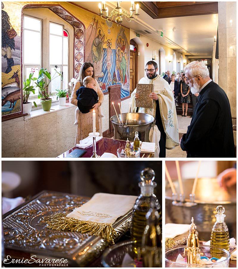 Christening Baptism Photography London Greek Orthodox Ceremony