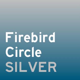 Firebird Circle Silver