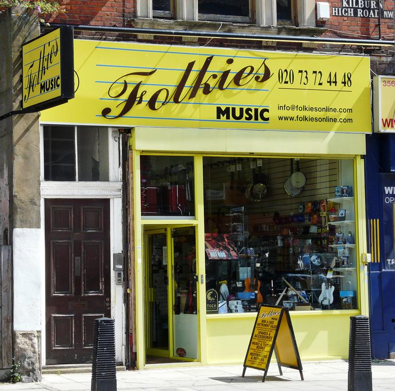 Folkies Kilburn High Road London
