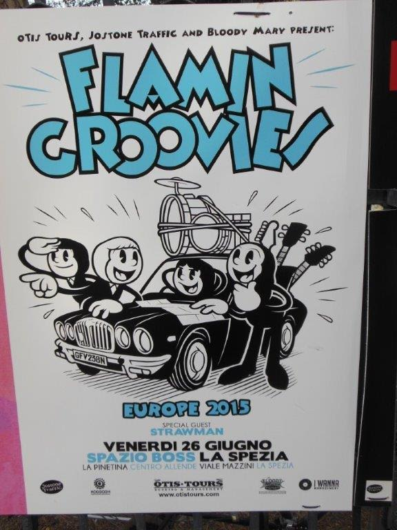 GIG REVIEW – FLAMIN' GROOVIES Live