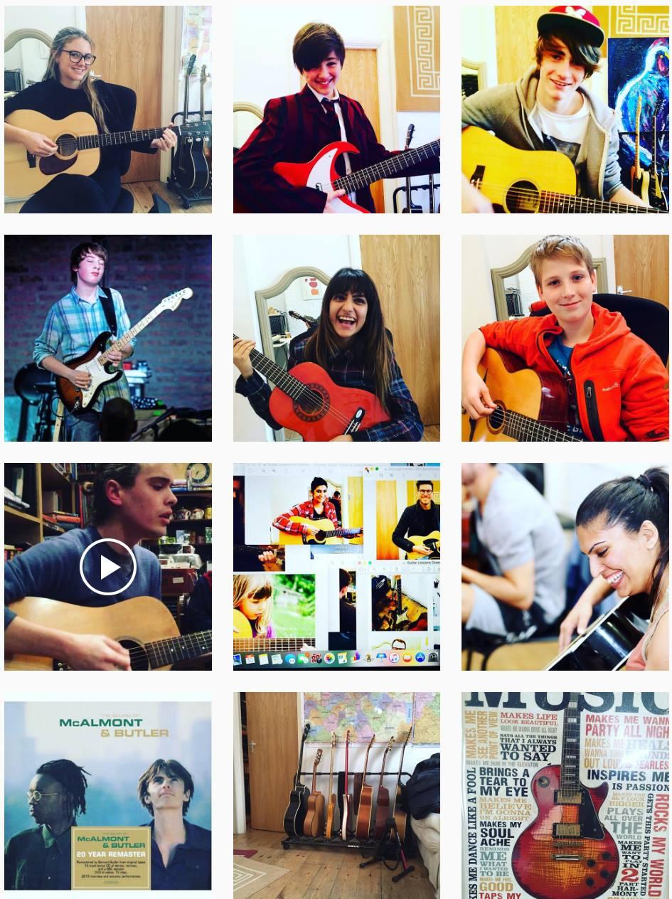 Guitar Lessons Chingford Leyton Walthamstow