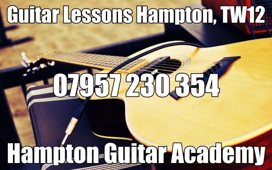 Guitar Lessons Hampton, TW12